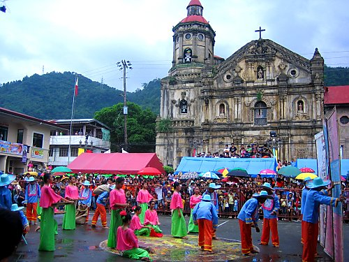 Street Dancing in Pakil, Laguna